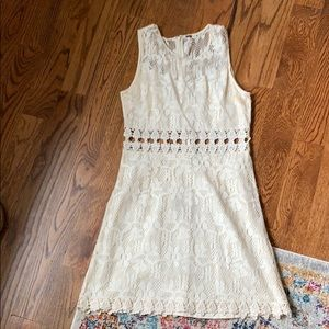 Free people cut out lace dress